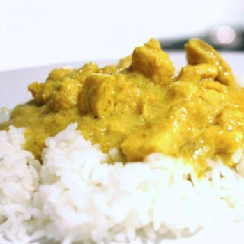 pollo curry+